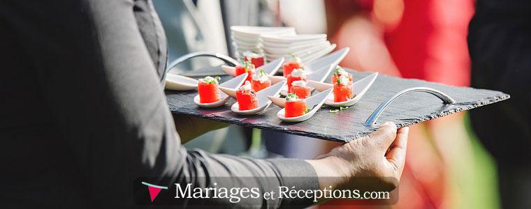 Traiteur pour son mariage : Nous conseillons de demander des devis à plusieurs traiteurs afin de pouvoir comparer les tarifs et ainsi choisir le meilleur menu au meilleur prix.