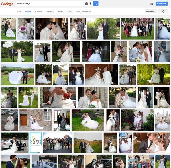 Partage photo de mariage : évitez les sites américains !