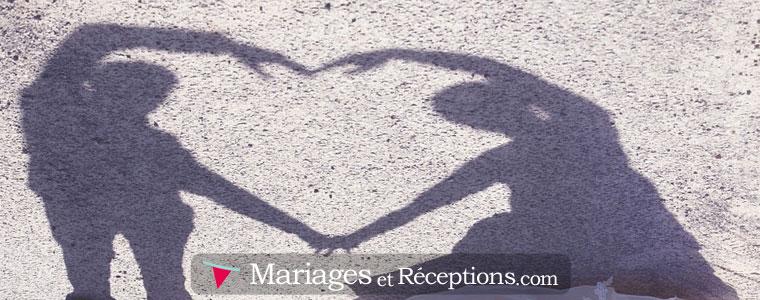 Utilisez une photo drôle ou poétique pour personnaliser votre faire part de mariage