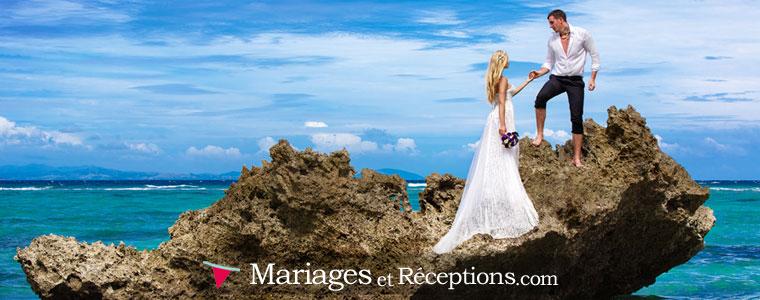 Shooting des mariés, des invités, mise en place d'un photo booth : un photographe de mariage professionnel pourra vous donner de nombreuses options pour vos photos de mariage...