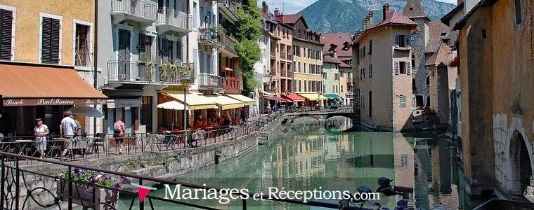 Organiser son mariage à Annecy